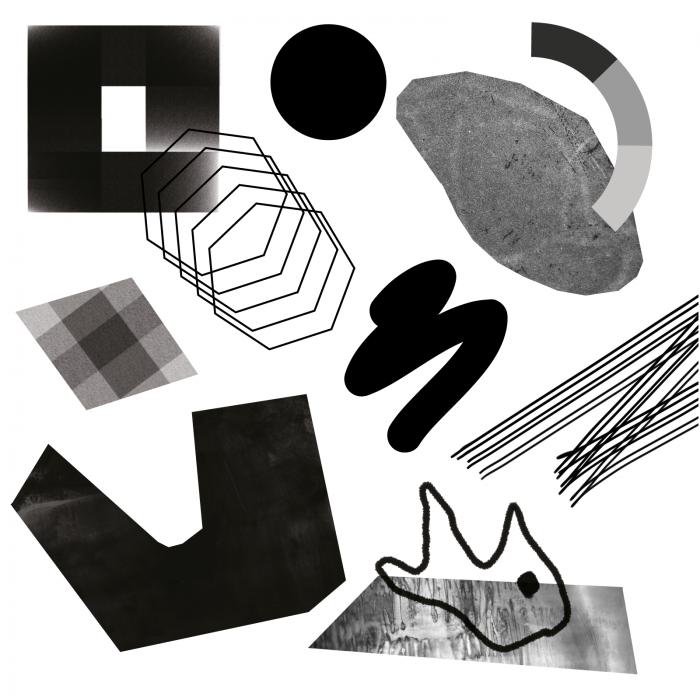 abstrakcyjna grafika dotycząca wystawy sygnały